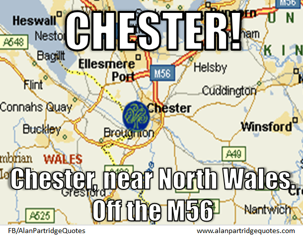 Chester, Chester, near North Wales Off the M56