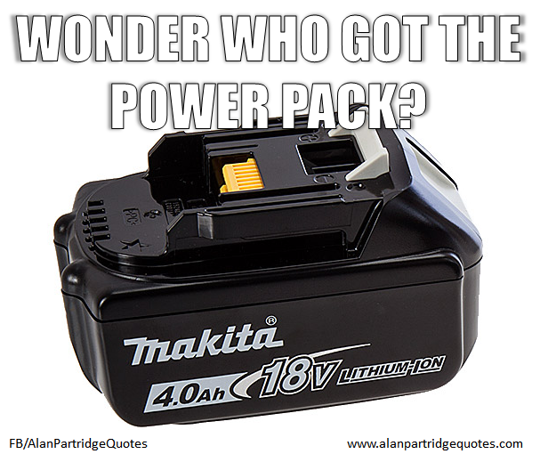 Wonder Who Got The Powerpack?